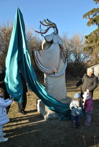 Пам'ятник пісні в селі Садова