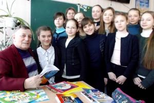 Рабенчук в школі 23