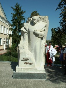 Пам'ятник Т. Г. Шевченку в Ольгополі. Скульптор: М. М. Крижанівський