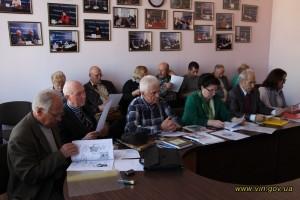 Засідання експертної ради з видання творів місцевих авторів за бюджетний кошт