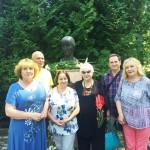Вінницькі письменники в Музеї Ахматової, 2019