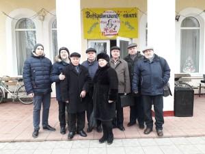 Письменники на святі М. Руданського в Хомутинцях