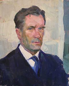 В. Пирогов. Автопортрет, 1970-ті рр.