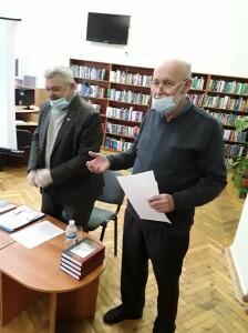 В. Рекрут та В. Вітковський